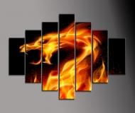 Abstrakce oheň