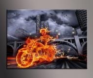 Obrazy Abstrakce Oheň