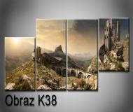 Obrazy na plátně 100x35cm